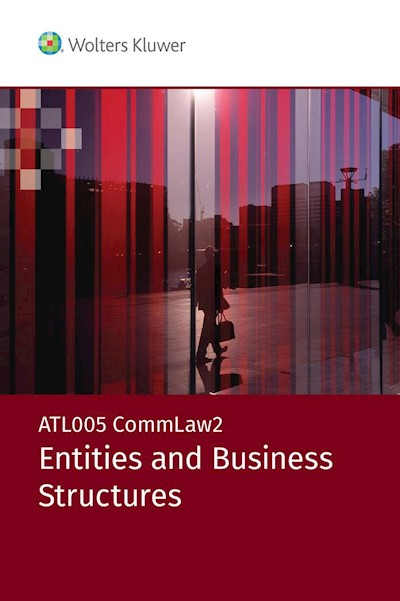 ATL005 CommLaw2:  Entities and Business Structures