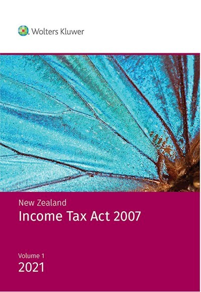 New Zealand Income Tax Act 2007 2021